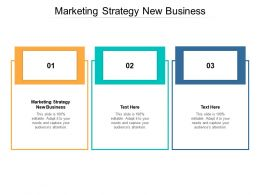 Marketing Strategy New Business Ppt Powerpoint Presentation Styles Inspiration Cpb