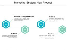 Marketing Strategy New Product Ppt Powerpoint Presentation Inspiration Format Cpb