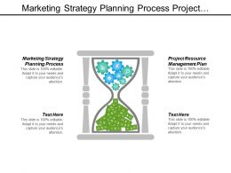 Marketing Strategy Planning Process Project Resource Management Plan Cpb