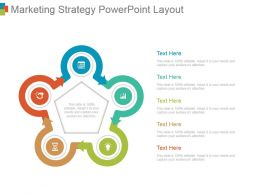 Marketing Strategy Powerpoint Layout