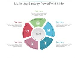 Marketing Strategy Powerpoint Slide