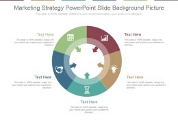Marketing Strategy Powerpoint Slide Background Picture