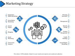 Marketing Strategy Powerpoint Slide Deck Template