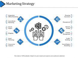 Marketing Strategy Powerpoint Slide Deck Template