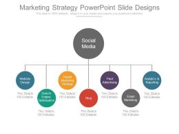 75304234 Style Hierarchy 1-Many 2 Piece Powerpoint Presentation Diagram Infographic Slide