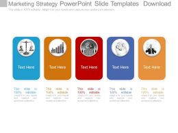 Marketing Strategy Powerpoint Slide Templates Download