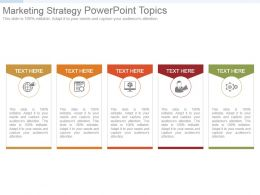 Marketing Strategy Powerpoint Topics