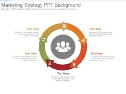 Marketing Strategy Ppt Background