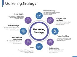 Marketing Strategy Ppt Gallery Model