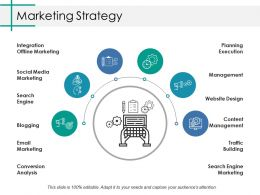 Marketing Strategy Ppt Gallery Vector