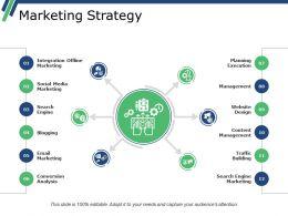Marketing Strategy Presentation Background Images