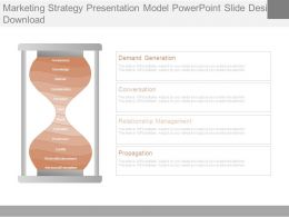 Marketing Strategy Presentation Model Powerpoint Slide Designs Download