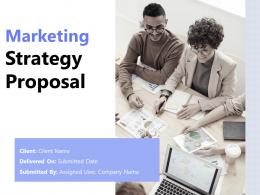 Marketing Strategy Proposal Powerpoint Presentation Slides