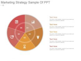 Marketing Strategy Sample Of Ppt