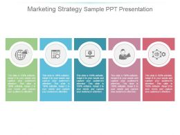 Marketing Strategy Sample Ppt Presentation