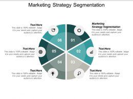 Marketing Strategy Segmentation Ppt Powerpoint Presentation Ideas Objects Cpb