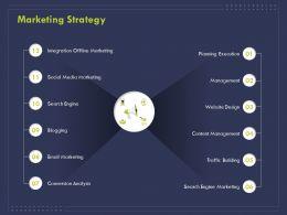 Marketing Strategy Social Media Ppt Powerpoint Presentation Portfolio Elements