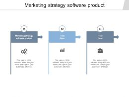Marketing Strategy Software Product Ppt Powerpoint Presentation Outline Graphics Cpb