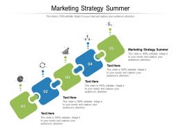 Marketing Strategy Summer Ppt Powerpoint Presentation Pictures Skills Cpb