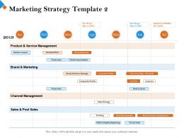 Marketing Strategy Template 2 No Go Ppt Powerpoint Presentation Model Professional