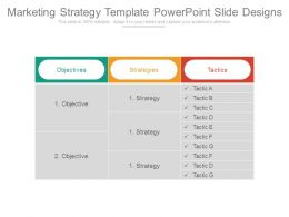 Marketing Strategy Template Powerpoint Slide Designs
