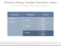 Marketing Strategy Template Presentation Images