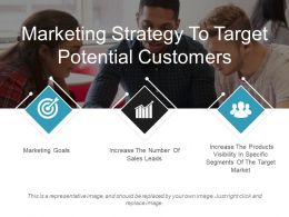Marketing Strategy To Target Potential Customers Ppt Slide Templates