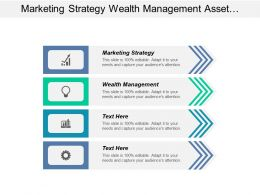 Marketing Strategy Wealth Management Asset Management Product Development Cpb