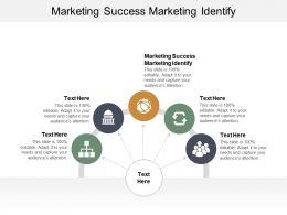 Marketing Success Marketing Identify Ppt Powerpoint Presentation Icon Design Templates Cpb