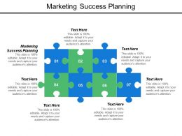 Marketing Success Planning Ppt Powerpoint Presentation Model Templates Cpb