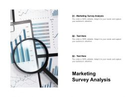 Marketing Survey Analysis Ppt Powerpoint Presentation Icon Format Ideas Cpb