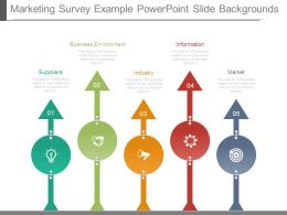 Marketing Survey Example Powerpoint Slide Backgrounds