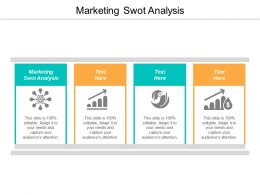 Marketing Swot Analysis Ppt Powerpoint Presentation Professional Summary Cpb