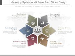 Marketing System Audit Powerpoint Slides Design