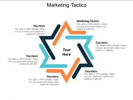 Marketing Tactics Ppt Powerpoint Presentation Summary Slide Cpb