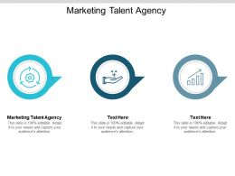 Marketing Talent Agency Ppt Powerpoint Presentation Icon Summary Cpb