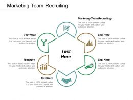 Marketing Team Recruiting Ppt Powerpoint Presentation File Layout Cpb