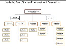 Marketing Team Structure Framework With Designations