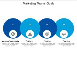 Marketing Teams Goals Ppt Powerpoint Presentation Layouts Graphics Template Cpb