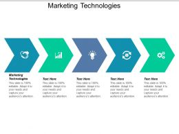 Marketing Technologies Ppt Powerpoint Presentation Summary Gallery Cpb