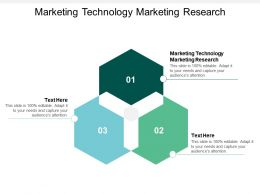 Marketing Technology Marketing Research Ppt Powerpoint Presentation Ideas Deck Cpb
