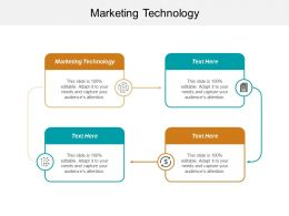 Marketing Technology Ppt Powerpoint Presentation File Design Ideas Cpb