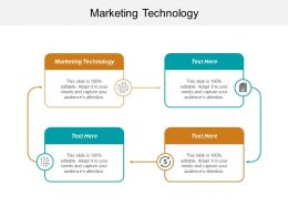 Marketing Technology Ppt Powerpoint Presentation Infographic Template File Formats Cpb