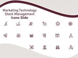 Marketing Technology Stack Management Icons Slide Ppt Powerpoint Presentation Styles