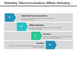 Marketing Telecommunications Affiliate Marketing Marketing Support Lead Generation Cpb