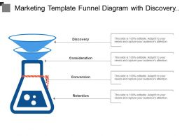 marketing_template_funnel_diagram_with_discovery_consideration_conversion_retention_Slide01