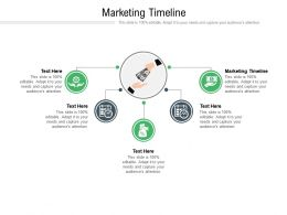 Marketing Timeline Ppt Powerpoint Presentation Icon Graphics Cpb
