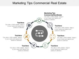 Marketing Tips Commercial Real Estate Ppt Powerpoint Presentation Professional Clipart Cpb