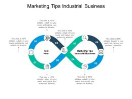 Marketing Tips Industrial Business Ppt Powerpoint Presentation Model Graphics Design Cpb