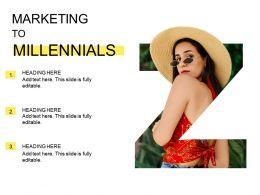 Marketing To Millennials Generation Z